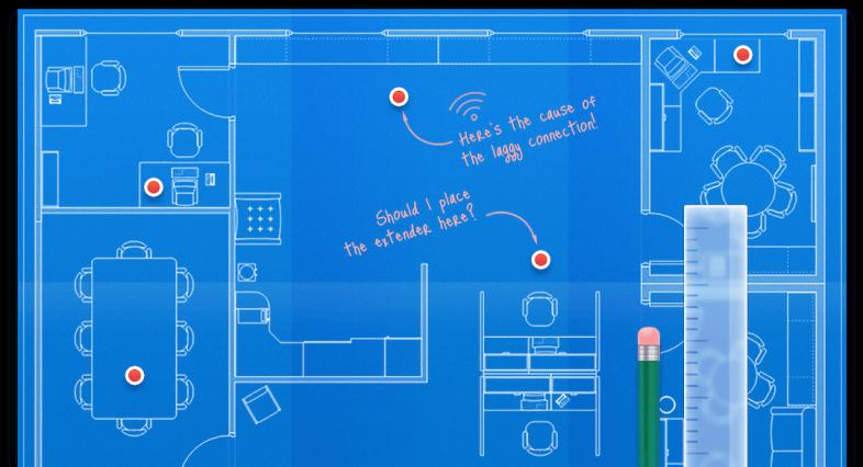 TNEXT无线WiFi网络质量分析工具