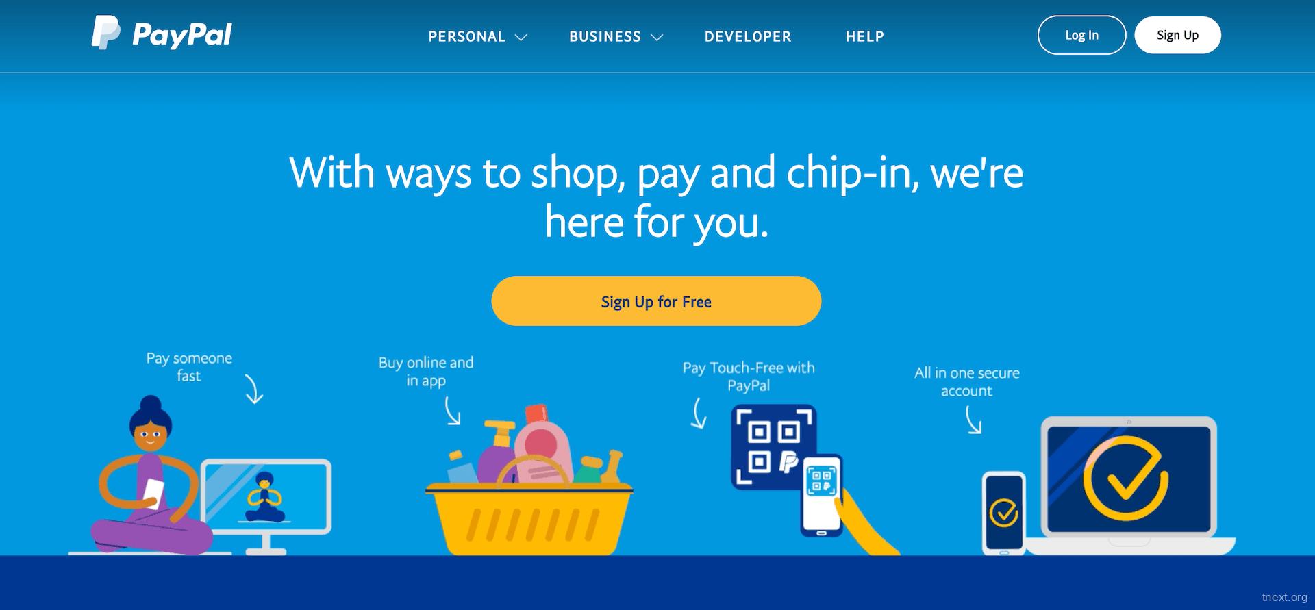 TNEXT   全球服务 2020年美区Paypal成功申请以及防风控\解封控攻略
